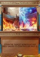 Spell Pierce - Foil x1 Magic the Gathering 1x Amonkhet Invocations mtg card