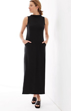 c2f8e2c5ac19 New ListingPURE J.JILL BLACK SLEEVELESS LUXE TENCEL® MOCK NECK SOFT MAXI  DRESS Sz 4X