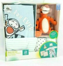 Disney Baby Tigger Best Day Ever 4 Piece Gift Set Romper 12-18 MO new