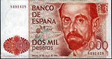 2000 Pesetas 1980 Juan Ramon Jimenez @ SENZA SERIE NUOVO @@