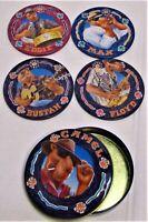 Vintage Joe Camel 1994 Coaster Floyd, Eddie, Bustah, Max (4 Coaster 1 container)