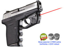 ARMALASER TR10 SCCY CPX-1 CPX-2 CPX-3 BRIGHT RED LASERSIGHT w/GRIP ACTIVATION