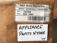 NEW BOSCH INNER DOOR 143759 00143759 FREE SHIP