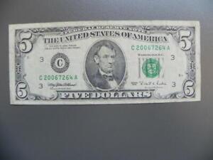 Amerika 5 Dollars 1995