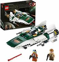 LEGO 75248 Disney Star Wars Resistance A-Wing Starfighter Building Toy Playset