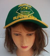 Seattle Supersonics Snapback Baseball Cap New Era Hardwood Classics NBA