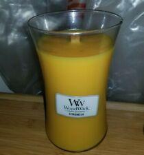 B3G1FREE** citronella  - WoodWick 609.5g large Jar Candle