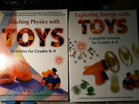 Teaching physics with toys and Exploring Energy with Toys set of books