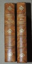 CH. MORANCE / Récits d'un aumonier militaire  1871-1878 - 2/2 vol. reliés