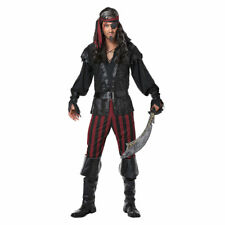 Mens Ruthless Rogue Costume Size Large