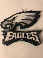 Wall Hanging Hat Rack - Philadelphia Eagles