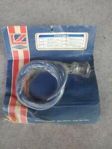 MGB Choke Cable 1963-1967  # SF70B Replaces: BHH 653  Kingsborne NOS