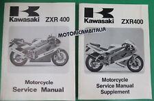 KAWASAKI ZXR400  90 91 MANUALE OFFICINA SUPPLEMENTO MANUAL SERVICE SUPPLEMENT