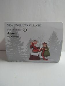 Dept 56 New England Village Christmas Cranberries 6005425