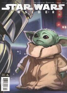 STAR WARS INSIDER #202 FOC COVER VF/NM 2021 TITAN HOHC
