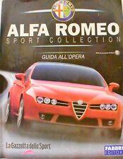 BOOK RIVISTA ALFA ROMEO SPORT COLLECTION MODELLINO AUTO CAR MODEL SCALA 1:43 NEW
