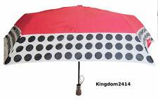 New Womens Red Black & White ShedRain Umbrella The Ultimate Umbrella