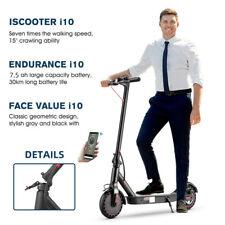 350w 8.5 pulgadas Paula e-scooter großrad suspensión app LED lámpara City Roller