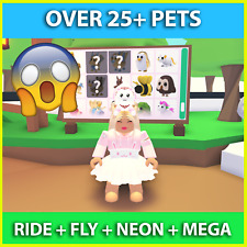 🔥 Adopt Me Pets Fly Ride Pets Legendary Neon Only Pets - FNR NFR FRN 🔥