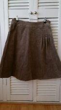 White Stuff Knee Length Velvet Casual Skirts for Women