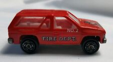 Novacar 107 (Portugal) Nissan Pathfinder Terrano Red Fire Department #2 Toy Suv