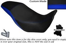 BLACK & ROYAL BLUE CUSTOM FITS HONDA CB 500 X 13-14 DUAL LEATHER SEAT COVER