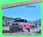 2014 TOYOTA TACOMA PICK-UP TRUCK DLX COLOR BROCHURE 24-pgs w/ 4X4 / TRD nr-Mint