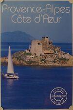 Affiche Tourisme France PROVENCE ALPES COTE D'AZUR