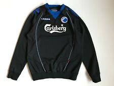 Men's Kappa F.C. Kobenhavn Sweatshirt Black Size XL