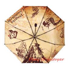 Umbrella Pirates of the Caribbean Anime Cosplay Jack Sparrow Mermaid Umbrella