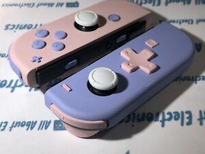 Nintendo Switch Custom Joycons Purple & Pink  Joy-Con SET Controller DPAD
