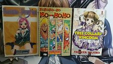 3 Manga Graphic Novels Vol 1, Rosario Vampire, SHONEN JUMP, Free collars Kingdom