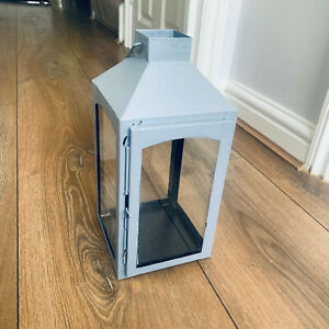 Large (30cm High!) Square Garden Lantern for Candle or Purely Decorative