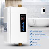 Riscaldatore di acqua istantaneo regolabile senza serbatoio Scaldabagno casa