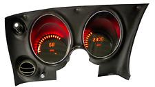 C3 Corvette 1968-1977 LED Digital Dash Gauge Instrument Cluster Direct Fit RED