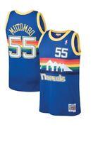 Dikembe Mutombo # 55 Denver Nuggets Mitchell & Ness NBA Mesh Throwback Jersey