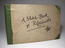 1883 'A SKETCH BOOK OF R. CALDECOTT'S' 1ST ED COMIC CARTOON MASTER PIONEER