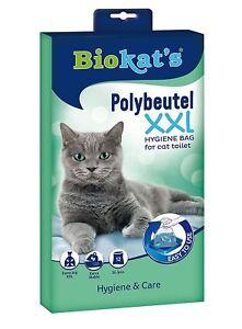 Biokats Polybags XXL Extra Large & Stable Bags Cat Litter Tray Liner Biokat's