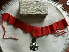 Ordre de la légion d'honneur - avec cravate - fabrication orfevre - argent