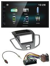 Kenwood Bluetooth 2DIN USB DAB MP3 Autoradio für Ford Transit V363 2014-2018