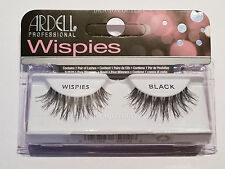 Ardell WISPIES BLACK Fashion/Natural Invisiband False Eyelashes Lashes BRAND NEW