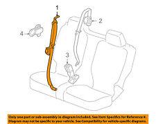 Hummer GM OEM 09-10 H3T Rear Seat Belt-Outer Assy 19208908