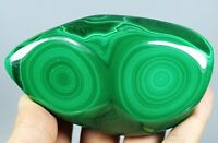 Perfect!Natural Botryoidal Collectible Green Polished Malachite Display Specimen
