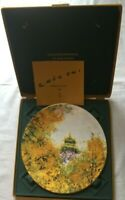 """Chen Chi """"Imperial Palace""""Royal Doulton""""1977 Collectible Plate In Case"""