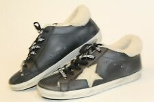 Golden Goose Superstar Womens 38 8 Italy Made Shearling Lined Leather Sneakers