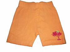 C & A tolle Shorts Gr. 104 orange mit Palmenstickerei !!