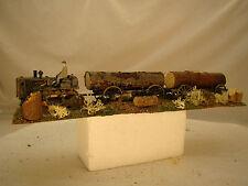 Historic Bulldozer Logging Diorama - custom weathered - lot 11 - O or On30 scale
