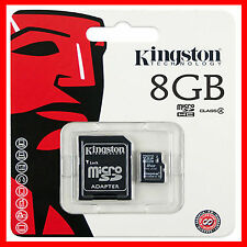 Genuine Kingston 8GB Micro SD Card in Original Packaging