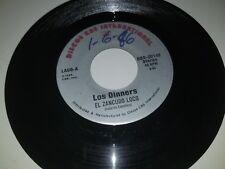 """LOS DINNERS Gallina Que / El Zancudo Loco DISCO CBS 20148 45 VINYL 7"""" RECORD"""