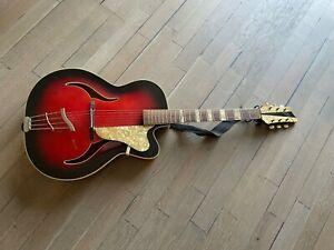 ++ Archtop Kreibich Gitarre 50/60er Jahre - Erbstück ++